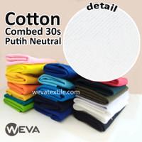 Bahan Kain Kiloan Cotton Combed 30s Bahan Kaos Distro
