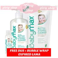 Babymax Bottle Utensils Cleanser 450 ml (Sabun Cuci Botol Susu)