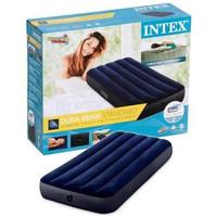 Intex kasur angin durabeam blue single 64756