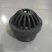 Tutup Bottom Drain 2inch   Membran Bottom Drain Kolam Koi   Bahan PVC