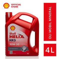 Oli Mesin Mobil Shell Helix HX3 20W-50 (4L)