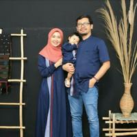 baju muslim couple keluarga bahan katun toyobo