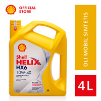 Oli Mesin Mobil Shell Helix HX6 10W-40 (4L)