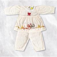 Setelan Baju Anak Balita Perempuan Lengan Panjang 6 bulan - 2 tahun