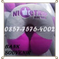 neck pillow travelling custom promosi