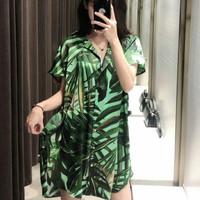 import daun leaf kemeja blouse shirt atasan baju wanita bluss pantai