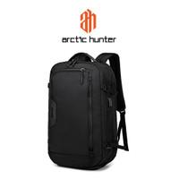 ARCTIC HUNTER B00183-1 Backpack Bag USB 17 - Tas Ransel Laptop BLACK