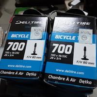Ban Dalam Deli Tire 700 x 19/23c fv 80mm