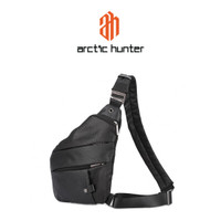 ARCTIC HUNTER XB00041 Crossbody Bag - Tas Selempang BLACK