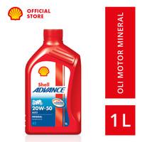Oli Motor Shell Advance AX3 20W-50 (1L)