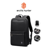 ARCTIC HUNTER B00410 Backpack Bag 15.6 - Tas Ransel Laptop BLACK