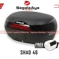 Box motor shad 46 SH46 SH include backrest cocok u Nmax Xmax Vixion CB