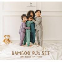 Little Palmerhaus Bamboo PJS Set|PJ Set |Piyama Set Bayi|Anak