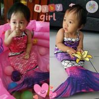 Baju Renang Putri Duyung Kostum Mermaid Baby Bayi Made in Indonesia