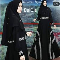 BALQIS SYARI Baju Gamis Wanita Set Hijab Murah Bagus Terlaris