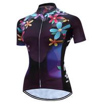Baju Jersey Wanita Import Jersey Sepeda Terbaru 2021 - M
