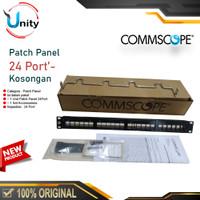 Patchpanel 24Port Patch Panel 24 Port CAT5e CAT6 AMP Commscope