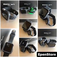 Apple Watch Strap iWatch 38mm 42mm BUMPER CASE + STRAP ALL BLACKSERIES