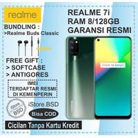 REALME 7i RAM 8/128GB   64MP QUAD CAMERA   GARANSI RESMI 1 TAHUN