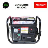 Genset mini 2 tak 750 watt Red Fox RF2000