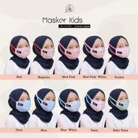 Masker Kids Motif Bunga Original By Arrafi