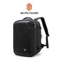 ARCTIC HUNTER B00210 Backpack Bag 17 - Tas Ransel Laptop BLACK