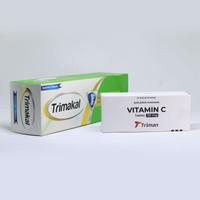 Vitamin C 50 mg & TRIMAKAL - Calcium Lactate Pentahydrate 500 mg Paket
