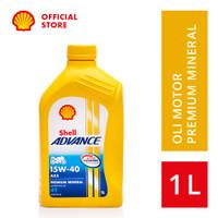 Oli Motor Shell Advance 4T AX5 15W-40 (1L)