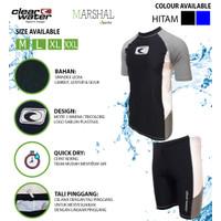 Clear Water Baju Renang Diving Setelan Pria Atasan Bawahan MS010