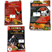 Jamu Ayam Laga ALADIN /Extra Fooding /Extra Strong /Herbal Serbuk