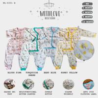 Baju Tidur Setelan Piyama Bayi 3 - 12 Bulan / Setelan Panjang Bayi
