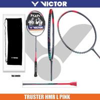VICTOR THRUSTER HMR L PINK RAKET BADMINTON ORIGINAL
