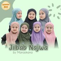JILBAB NAJWA - JILBAB TALI ANAK- ORIGINAL BY MANASIKANA