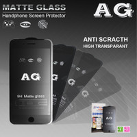 MATTE GLASS / ANTI MINYAK NANVAN 5D TEMPERED GLASS IPHONE 8