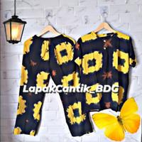 Setelan Batik Polka/ Baju santai/ Baju tidur/ Baby doll/ One set