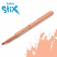 Artline Stix Brush Marker - Apricot / Brush Pen
