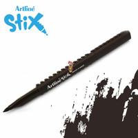 Artline Stix Brush Marker - Dark Brown / Brush Pen