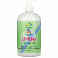 Rainbow Research Baby Oh Baby Herbal Body Lotion Unscented 453g