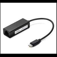 Kabel Converter USB Type C To RJ45/LAN Ethernet Adapter 100mbps