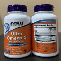 Now Foods Ultra Omega 3 90 Softgels Now Ultra omega 3 90 Softgels US