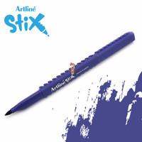 Artline Stix Brush Marker - Purple / Brush Pen