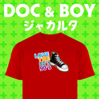 Baju/Kaos/T-shirt Sepatu Warrior 80an 90an / Sepatu 80an 90an