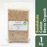 Sundakala - Beras Cokelat 1kg - Beras Organik - Beras Sehat