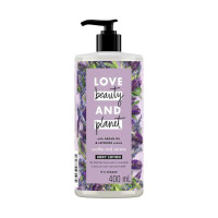 LOVE BEAUTY PLANET Lotion Argan Oil & Lavender Body - Ungu (400 mL)