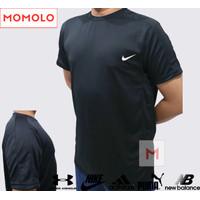 Baju Olahraga Pria Bisa Wanita Untuk Gym Lari Bola Polos Futsal Jersey