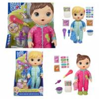 Baby Alive Mix My Medicine Baby Doll Kitty Pets Pajamas Dino Pajamas