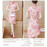 Cherline RedBerry Cheongsam Dress Import TM 0372