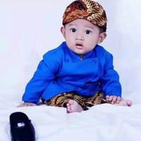 Baju Beskap Bayi / Baju Beskap Anak / Baju Bayi Adat Jawa