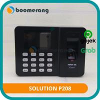Mesin Absensi Sidik Jari Fingerprint Solution P208