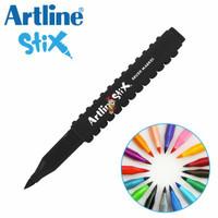 MURAH !!! Spidol Artline Stix Brush Marker